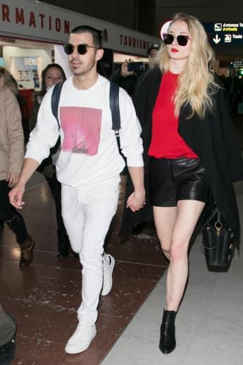 Joe Jonas und Freundin Sophie Turner zeigen sich endlich zusammen in der Öffentlichkeit