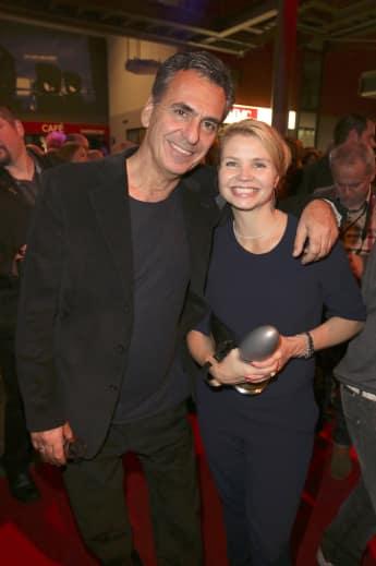 Johannes Wuensche und Annette Frier beim Deutschen Comedypreis