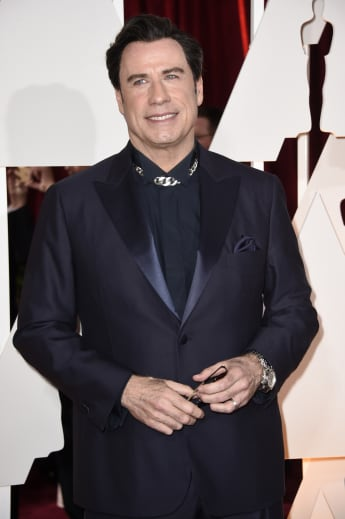 John Travolta erschien bei den Oscars 2015 verändert