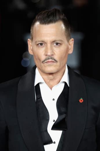 Johnny Depp Mord im Orient-Express Filmpremiere London 2017