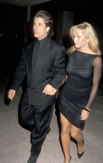 Jon Peters; Pamela Anderson; Pamela Anderson und Jon Peters