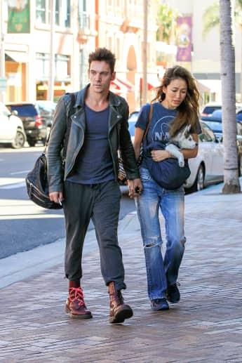 Jonathan Rhys Meyers Verlobte Mara Lane