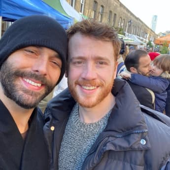 Jonathan Van Ness hat heimlich Mark Peacock geheiratet