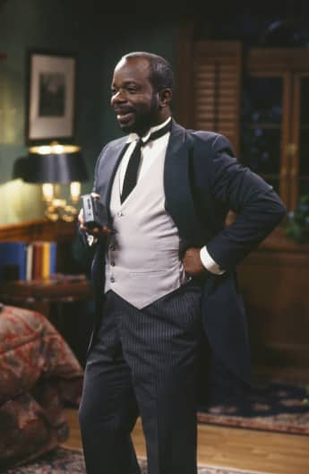 "Joseph Marcell alias butler ""Geoffrey"" in ""The Fresh Prince of Bel-Air"""