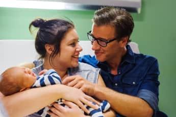 """Das AWZ Paar """"Vanessa"""" und """"Christoph"""" haben Nachwuchs bekommen"""