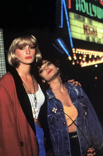 "Julia Roberts und Laura San Giacomo in ""Pretty Woman"""