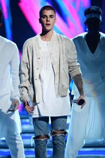 Justin Bieber bei den Billboard Music Awards