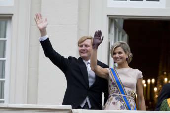 König Willem-Alexander und Königin Maxima feiern den Prinzentag