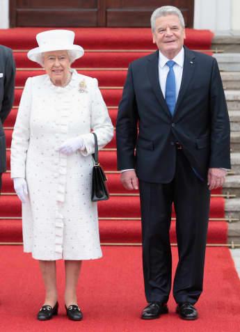 Königin Elisabeth II. und Bundespräsident Joachim Gauck