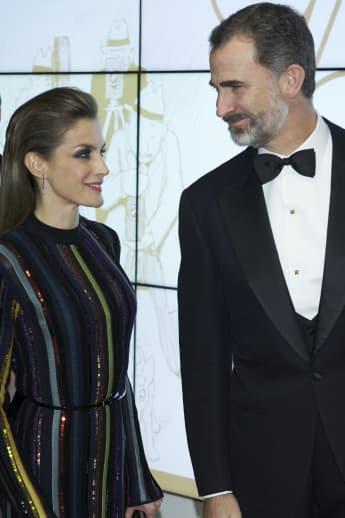 Königin Letizia und König Felipe von Spanien in Madrid