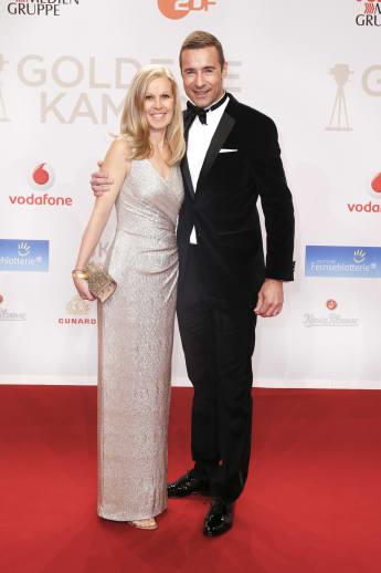 Ilke Pflaume und Kai Pflaume bei der Goldenen Kamera im Jahr 2016