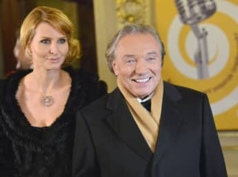 Karel Gott und seine Frau Ivana verheiratet glücklich Ehe Paar Primi-Paar