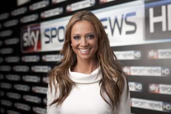 Kate Abdo moderierte erfolgreich bei Sky