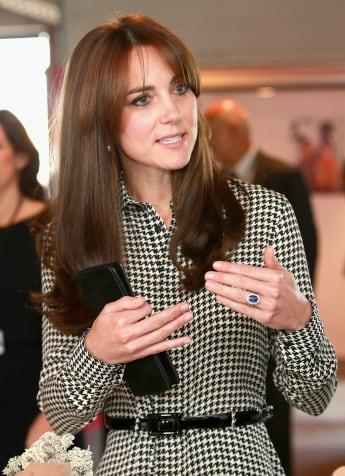 Herzogin Kate besucht das Anna-Freud-Center