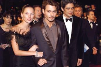 Damals ein Paar: Kate Moss und Johnny Depp im Jahr 1998