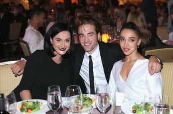 Robert Pattinson, FKA Twigs und Katy Perry bei der GO Campaign Gala