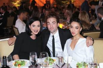 Katy Perry, Robert Pattinson und FKA Twigs bei einer GQ-Gala 2015
