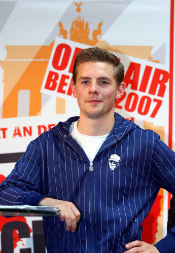 """Klaas Heufer-Umlauf beim """"Schau nicht weg!""""-Event"""