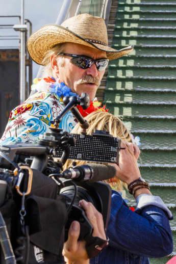 Konny Reimann in Cap San Diego