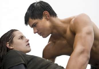 """Kristen Stewart und Taylor Lautner in """"Twilight"""""""