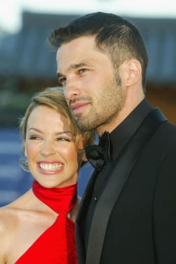 Kylie Minogue und Olivier Martinez