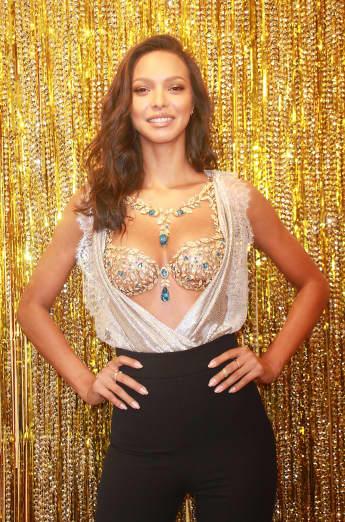 Victoria's Secret Model Lais Ribeiro Fantasy Bra