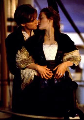 """Leonardo DiCaprio und Kate Winslet in """"Titanic"""" 1997"""