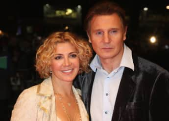 Natasha Richardson und Liam Neeson, The Other Man, London, Der Andere