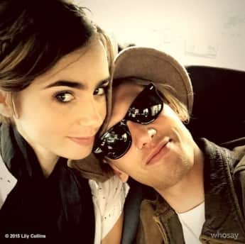 Lily Collins und Jamie Campbell Bower im September 2015