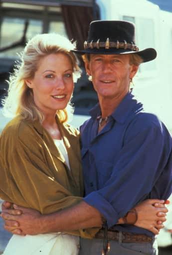 Linda Kozlowski und Paul Hogan waren vor und hinter der Kamera ein Paar