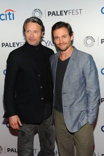"""Mads Mikkelsen und Hugh Dancy spielten zusammen in der Serie """"Hannibal"""""""