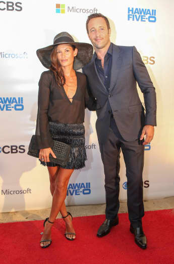 Model Malia Jones und Schauspieler Alex O'Loughlin sind seit 2012 ein Paar