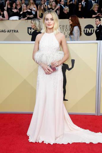 Margot Robbie, SAG Awards, Los Angeles, I, Tonya