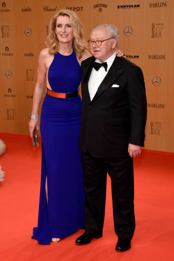 Maria Furtwängler und Hubert Burda