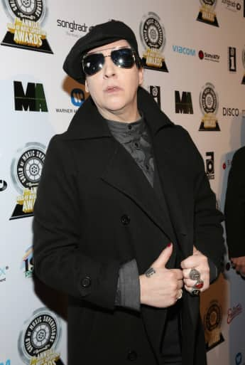 Marilyn Manson ohne Make-up