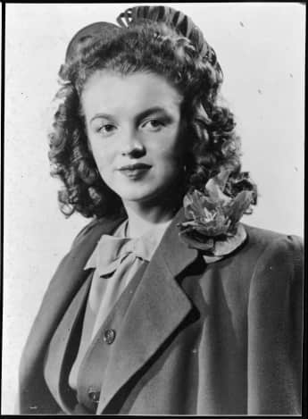 Marilyn Monroe at the age of 14