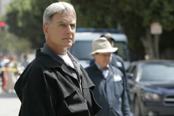 Mark Harmon und David McCallum bei NCIS