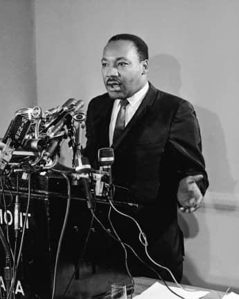 Martin Luther King war Baptistenpastor und Bürgerrechtler
