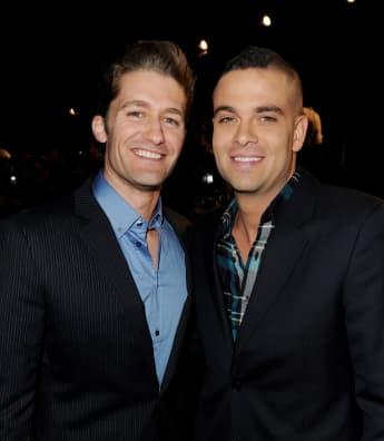 """Matthew Morrison und Mark Salling bei der Fox TV's TCA All-Star Party 2011, """"Glee"""""""