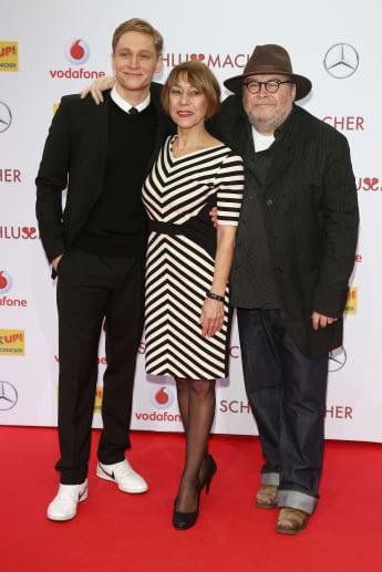 Matthias Schweighöfer mit seiner Mutter Gitta und seinem Vater Michael