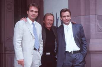 Matthias Herrmann, Claus Theo Gärtner und Paul Frielinghaus