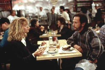 "Meg Ryan und Billy Crystal in ""Harry und Sally"""