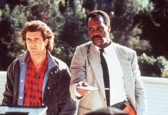 "Mel Gibson und Danny Glover in ""Lethal Weapon"""