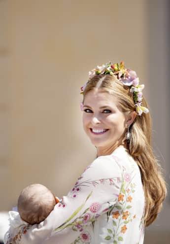 Madeleine von Schweden mit Prinzessin Adrienne