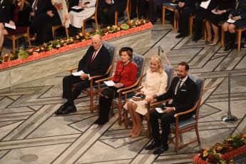 Mette-Marit Friedensnobelpreises 2019