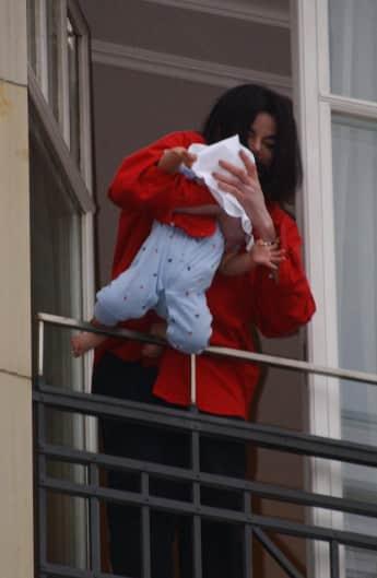 Michael Jackson Baby Blanket