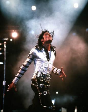 Michael Jackson im Jahr 1989