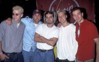 Die Band *NSYNC im Jahr 1998