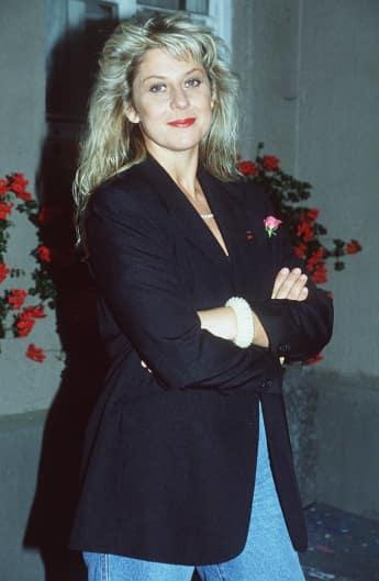 Mona Seefried im Jahr 1993