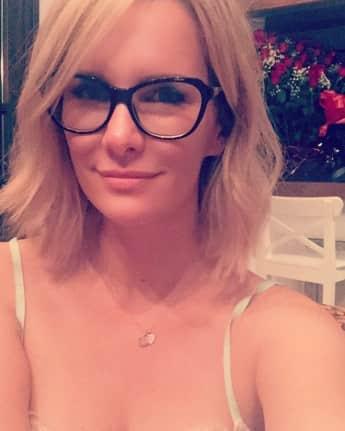 Monica Ivancan ist eine prominente Brillenschlange